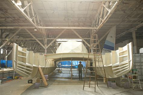 plastic catamaran hull plastic boat the building of a high tech eco stunt wired