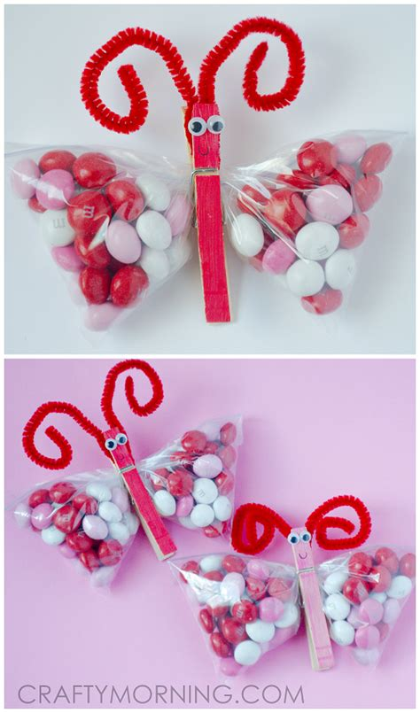 cutest valentines m m butterfly treats for s day gift idea