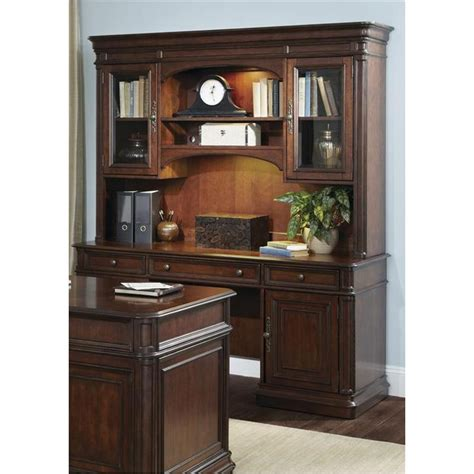 Brayton Nursing Home by 273 Ho131 Liberty Furniture Jr Executive Credenza Hutch