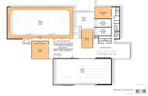 ymca floor plan ymca of the cedar rapids metropolitan area capital caign