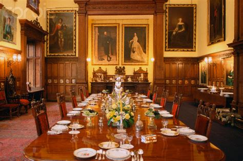 the dining room balmoral introduction of glamis castle a traveller info