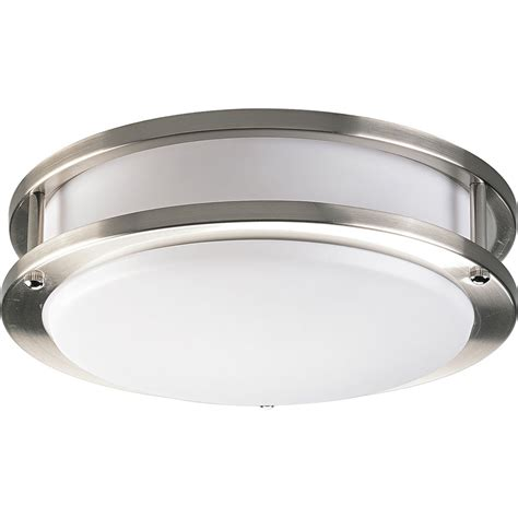 progress lighting contemporary flush mount ceiling light