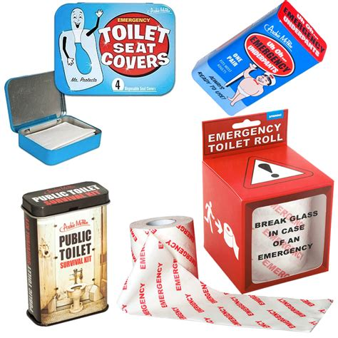 bathroom survival kit stupid com emergency bathroom kit