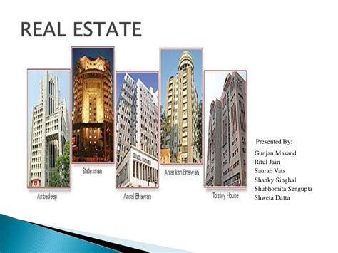Real Estate Ppt Real Estate Investment Powerpoint Template