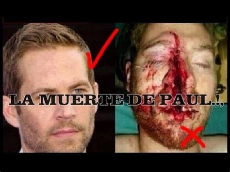 imagenes reales de paul walker muerto la muerte de paul walker gabrielsilva youtube