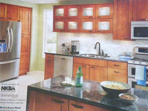 kitchen aid cabinets lowe s shenandoah mission maple in auburn glaze kichen
