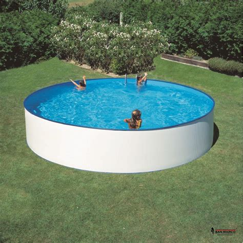 piscina da giardino fuori terra piscina fuori terra gre ibiza rotonda 450x90 cm san marco
