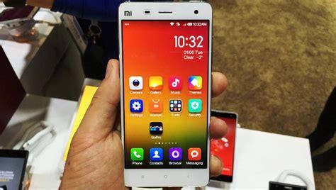 Merk Hp Xiaomi Mi4 harga xiaomi mi4 baru dan bekas februari 2017 spesifikasi