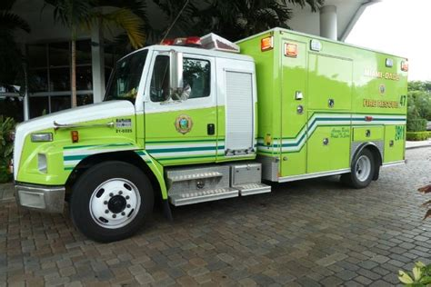 Miami Dade Number Search Engines Photos Miami Dade Rescue Freightliner Ambulance