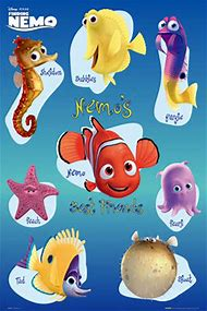 Finding Nemo Characters Names See All