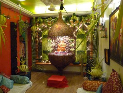 ideas for home decoration ganpati decoration ideas for home the royale