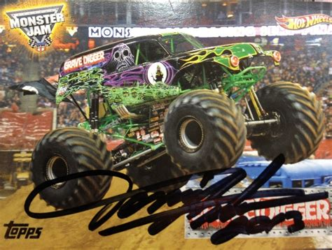 who drives grave digger truck dennis driver of grave digger trucks