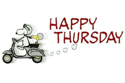 thursday clip snoopy happy thursday pictures photos and images for