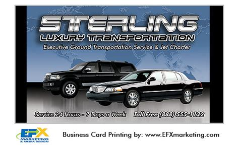 limo company business card template free business cards for transportation gallery card