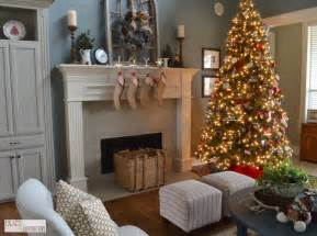 Christmas Livingroom Home Tours Christmas Cookies And Holiday Fun Lilacs And