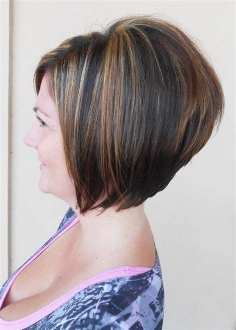 photos of an a line stacked haircut 2014 short stacked bob haircut for women over 40 popular