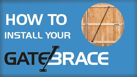How To Fix Saggy by Fix Your Gate Right Anti Sag Gate Brace
