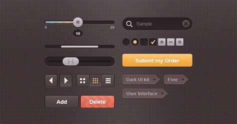 best ui library free web and apps ui kit elements ui kit vector area