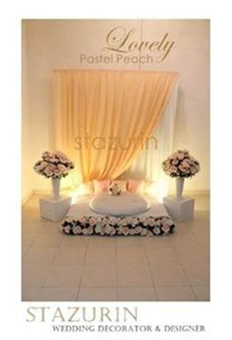 Terkini Mini 2 pelamin aka dias on backdrops photo booths and hanging flowers