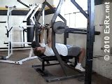bench press exrx lever barbell close grip bench press plate loaded