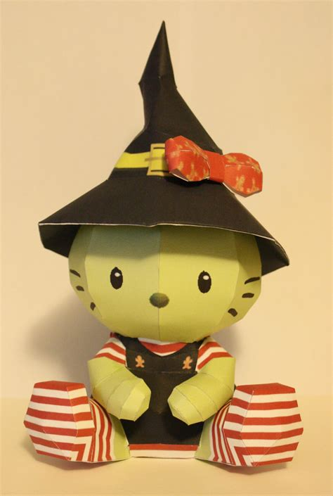 Hello Paper Craft - hello witch papercraft by katrivsor on deviantart