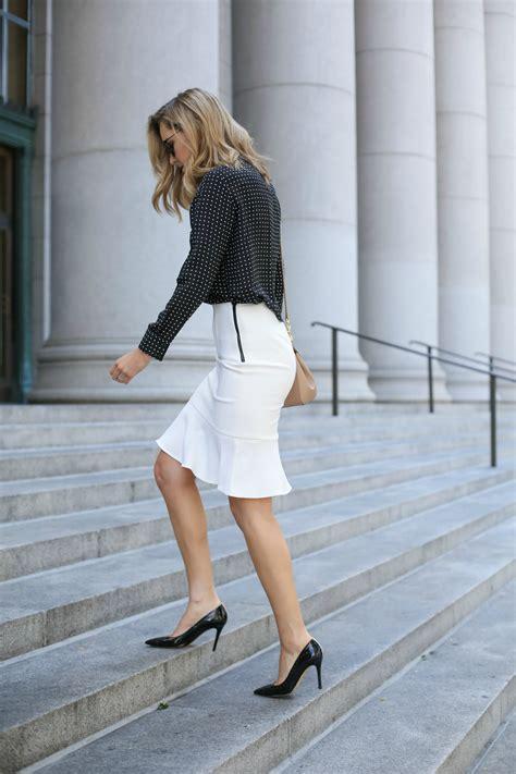 Blouse Batik Ninda White E black blouse for skirt blue denim blouses