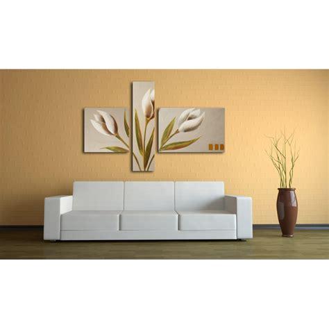 dipinti di fiori moderni quadro dipinto a mano tulipani 687