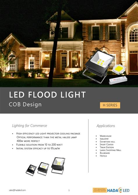 Lu Led Sorot 200 Watt hada datasheet bridgelux h led floodlight by hada sales