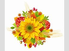 Autumn Decor PNG Clipart Picture | Gallery Yopriceville ... Free Clip Art Of Fall Flowers