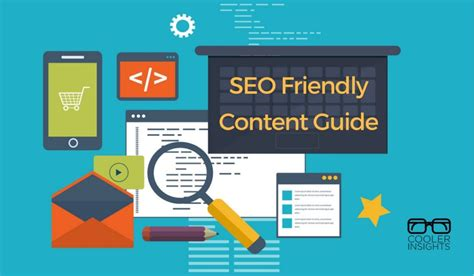 Seo Guide 2016 by Seo Friendly Content A Step By Step Guide Cooler Insights