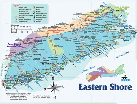 eastern shore motorcycle tour guide scotia