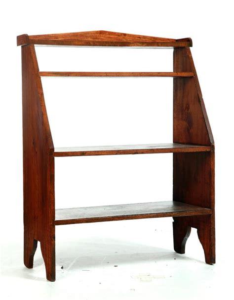 primitive crock shelf