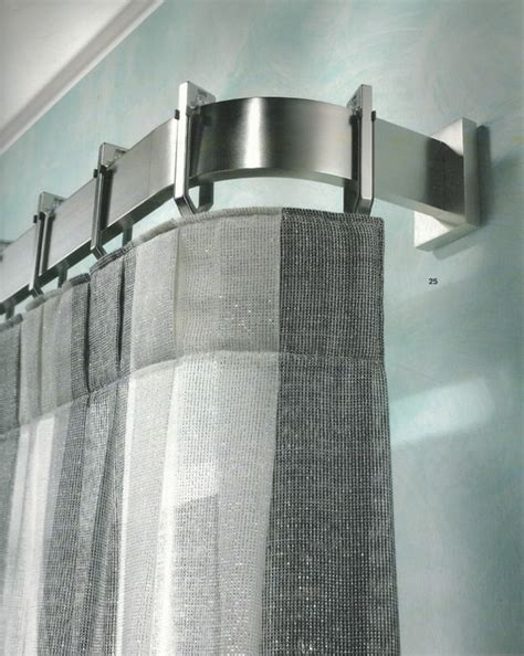 curtain rods contemporary window treatments curtain poles and tie backs