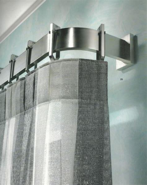 Contemporary Drapery Rods window treatments curtain poles and tie backs