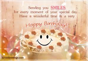 Delightful birthday wish for your friend sweetheart dear one