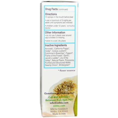 Emotional Detox Spray by Sidda Cell Salts Flower Essences Emotional Detox