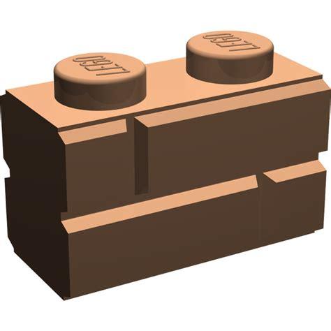 Lego Brick With Embossed Bricks 98283 Gray lego brick 1 x 2 with embossed bricks 98283 brick owl lego marketplace