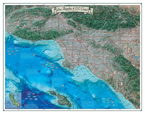 big valley boat orange beach los angeles orange coast map coastal california series