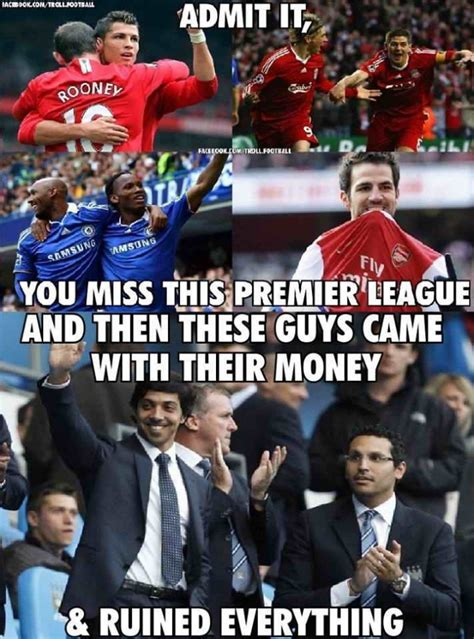 English Premier League Memes - english premier league now fansfoot you ll never laugh