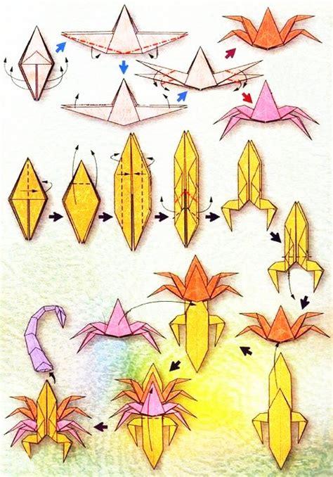 origami du signe du zodiaque le scorpion