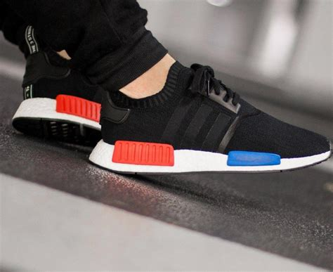 Adidas Nmd Runner Primeknit Pk Negro Hombres Mujer Zapatos P 634 by Zapatos Adidas Nmd