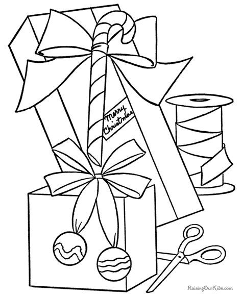 Free Printable Christmas Coloring Sheets Presents Az Free Coloring Pages Trading