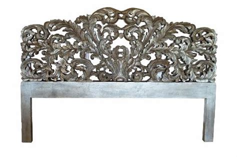 ornate headboards headboards ornate headboard king german silver was