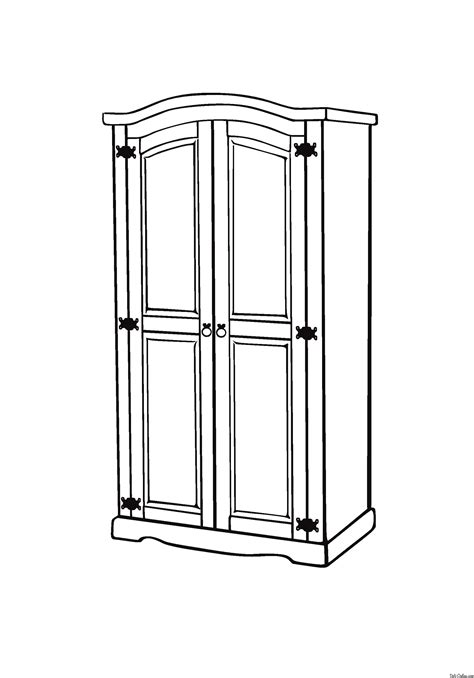 coloring pages furniture house furniture coloring page for kids to print and download for