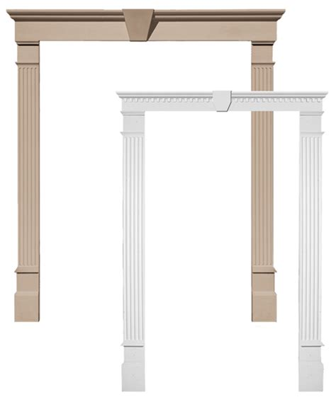 Exterior Door Pediments Door Surrounds Door Pilasters Door Pediment Door Surround Molding