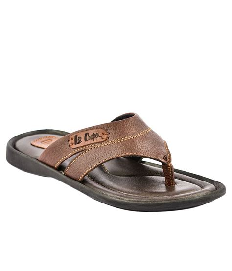 leecooper slippers cooper brown slippers price in india buy cooper