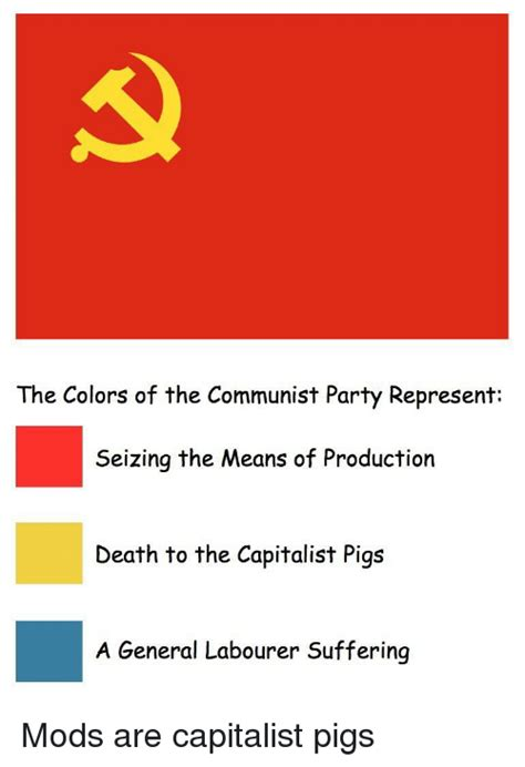 communist colors the colors of the communist represent seizing the