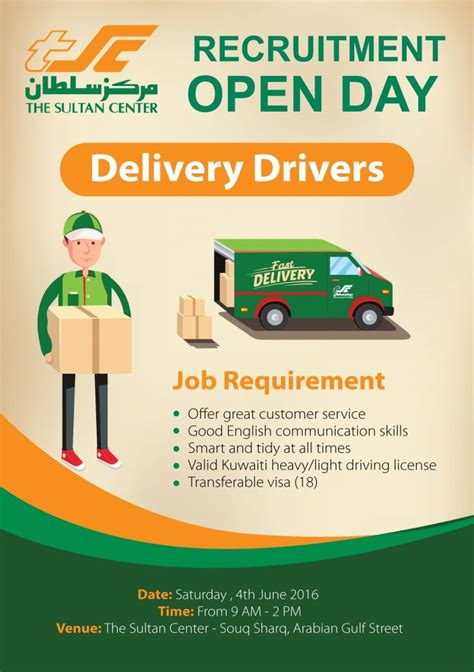 delivery drivers jobs  show ad kuwait upto date kuwait upto date