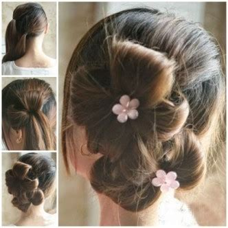 ponytail shag diy haircut hair how to waterfall and double waterfall braid the daily