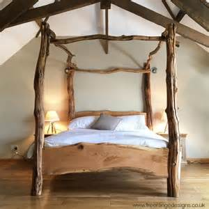 Wooden Four Poster Bed Frame 25 Best Ideas About Tree Bed On Beds For Children Tree Bedroom And Amazing Beds